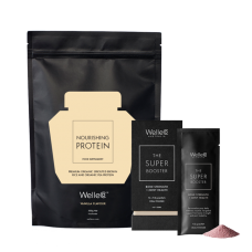 Base + Boost Body Pack - The Super Booster Bone Strength + Joint Health & Nourishing Protein Vanilla