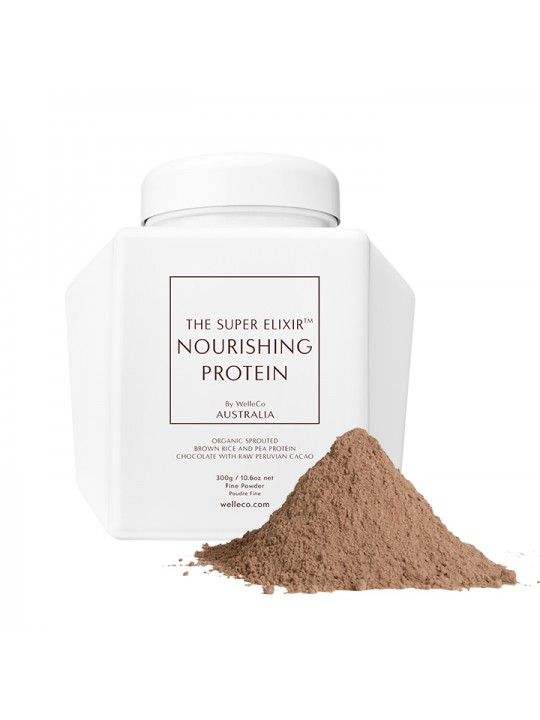 THE SUPER ELIXIR NOURISHING PROTEIN CHOCOLATE WHITE CADDY 300гр