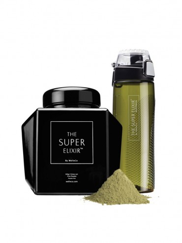 THE SUPER ELIXIR ALKALISING FORMULA CADDY 300гр & HYDRATOR BOTTLE 700мл